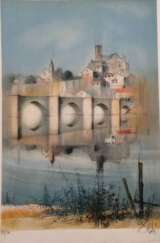 Litografia Valadie - Le Pont de Limoges