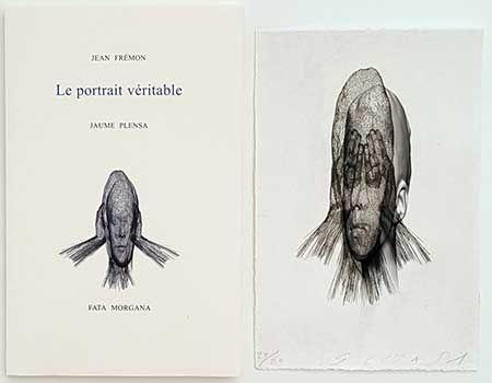 Libro Illustrato Plensa - Le portrait véritable