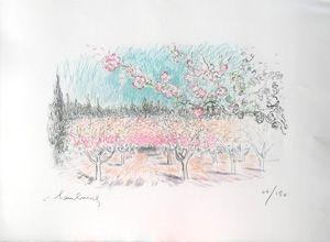 Litografia Hambourg - Le printemps