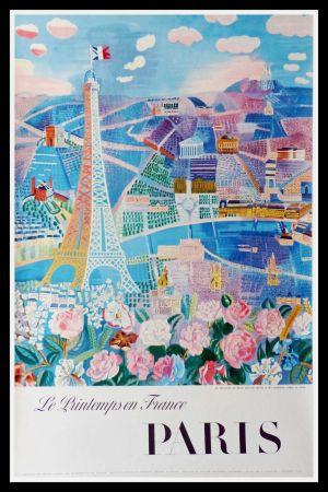 Litografia Dufy - LE PRINTEMPS EN FRANCE PARIS