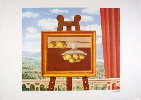 Litografia Magritte - Le réveil Matin - The Morning Alarm clock