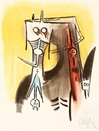 Litografia Lam - Le regard vertical #1
