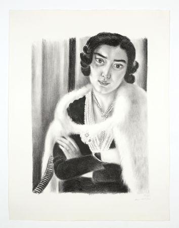 Litografia Matisse - Le renard blanc
