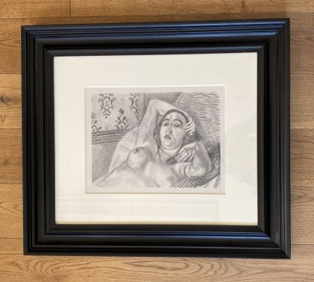 Litografia Matisse -  Le repos du modele