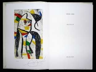 Libro Illustrato Miró - Le ruban