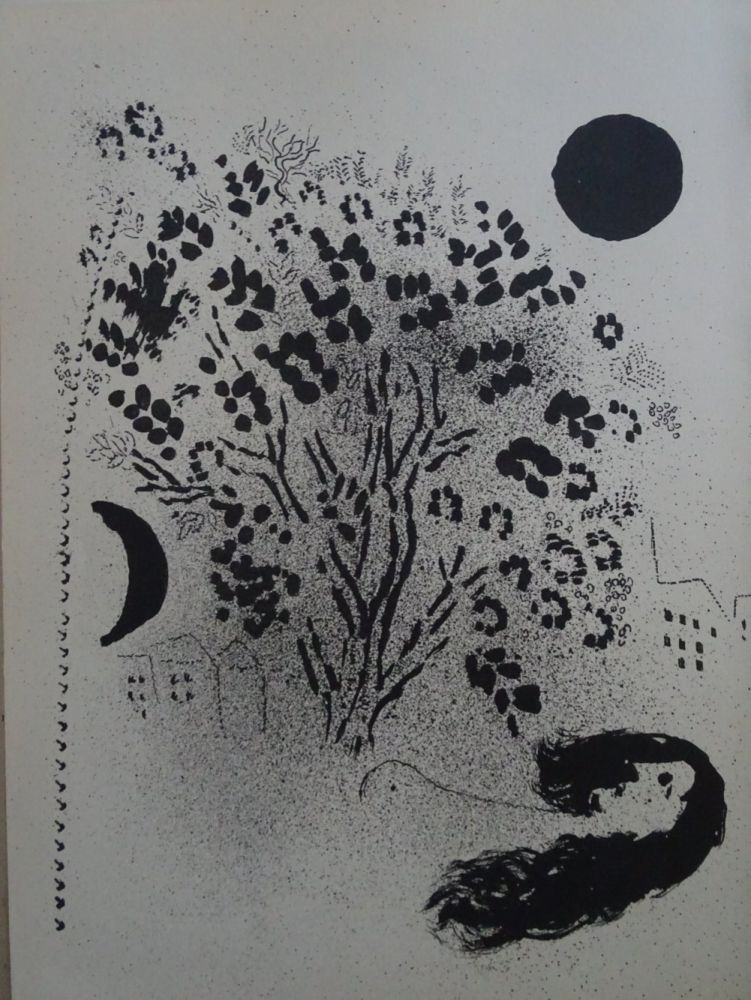 Litografia Chagall - Le Soir
