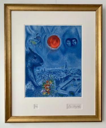 Litografia Chagall - Le Soleil de Paris