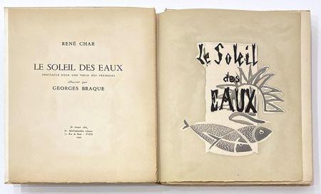 Libro Illustrato Braque - Le soleil des eaux
