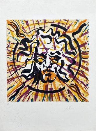 Litografia Dali - Le Soleil (Les Vitraux)