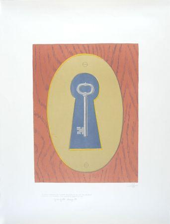 Litografia Magritte - Le Sourire du Diable - The Devil' Smile
