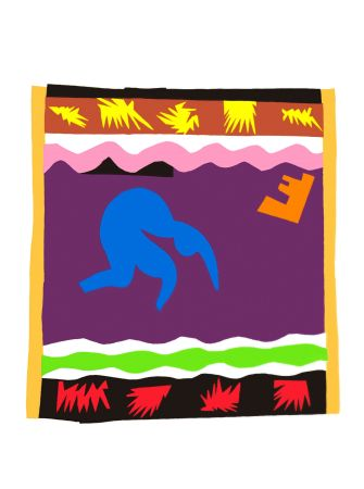 Litografia Matisse - Le Toboggan (Toboggan)