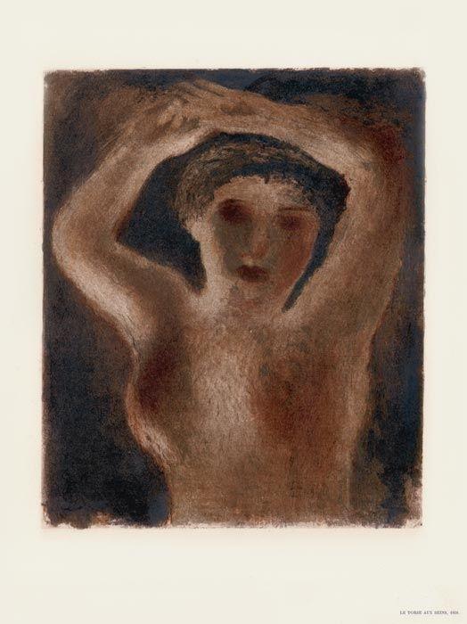 Litografia Fautrier - Le Torse aux seins