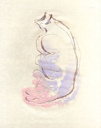 Acquaforte E Acquatinta Fautrier - Le torse de la femme