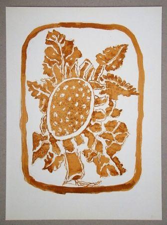 Litografia Braque (After) - Le Tournesol