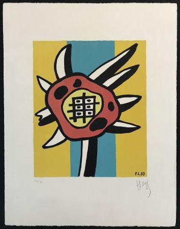 Litografia Leger - Le Tournesol (The Sunflower)