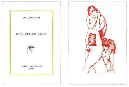 Libro Illustrato Topor - Le trésor des dames