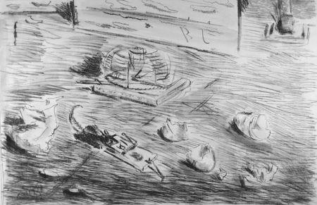 Litografia De Pisis - Le trappole