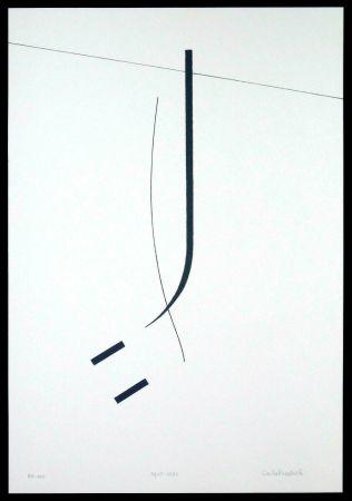 Serigrafia Badiali - Le vent se leve (tavola 5)
