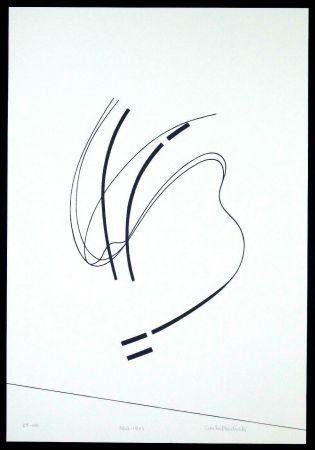 Serigrafia Badiali - Le vent se leve (tavola 6)