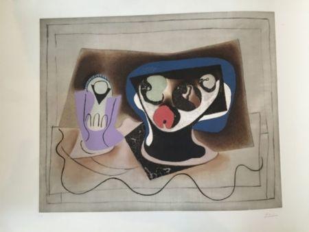 Acquatinta Picasso - Le verre d'absinthe