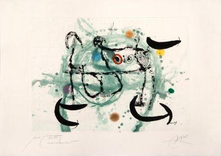 Acquaforte E Acquatinta Miró - L´ecartelée