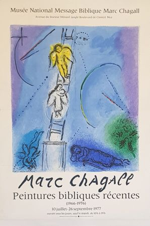 Litografia Chagall (After) - L'Echele de Jacob