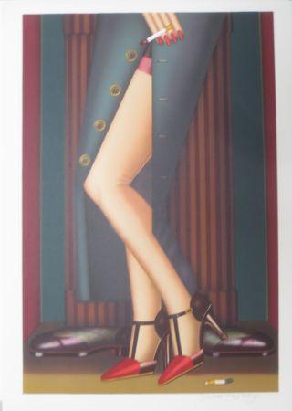 Litografia Okshteyn - Legs