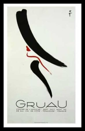 Manifesti Gruau - L'ELEGANTE
