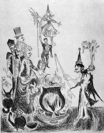 Acquaforte Haz - L'elfo e la rosa