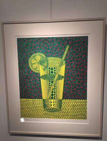 Serigrafia Kusama - Lemonsquash2