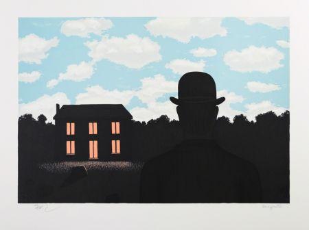 Litografia Magritte - L'Empire des Lumières