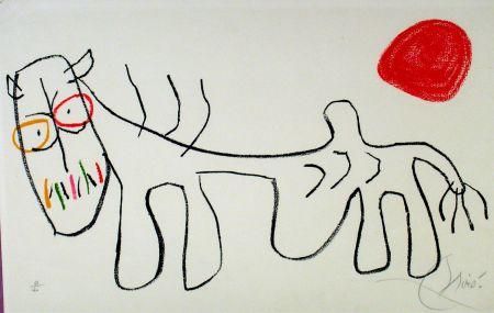 Litografia Miró - L'enfance du Ubu