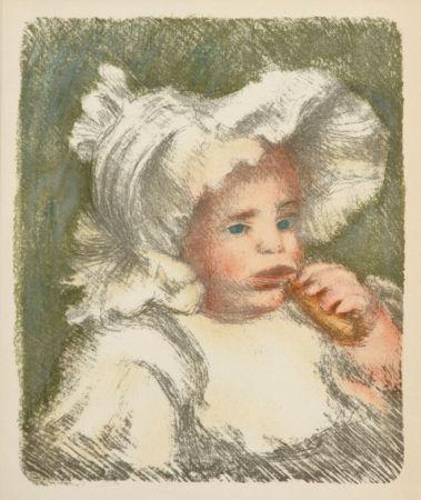 Litografia Renoir - L'Enfant au Biscuit