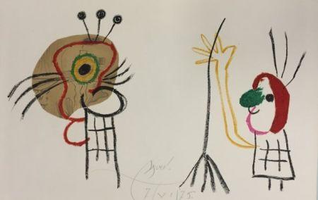 Litografia Miró - L'enfant D' Ubu