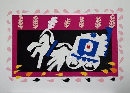 Collografia Matisse - L'Enterrement de Pierrot (Pierrot's Funeral)