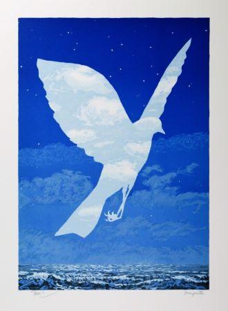 Litografia Magritte - L'Entrée en scène