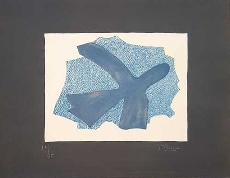 Litografia Braque - L'envol
