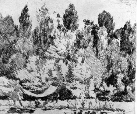 Acquaforte Castellani - Lenzuola al sole