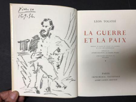 Litografia Picasso - Leon Tolstoi