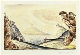 Litografia Balthus - Les 22 concertos pour piano de Mozart