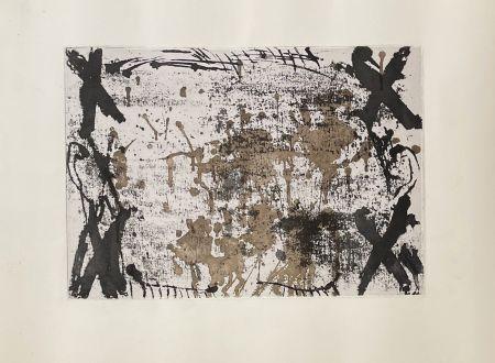 Incisione Tàpies - Les 4 croix