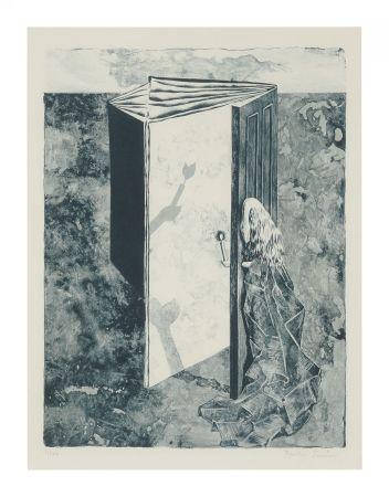 Litografia Tanning - LES 7 PÉRILS SPECTRAUX (The 7 Spectral Perils) Porfolio. 1950