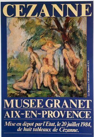 Offset Cezanne - Les Baigneuses