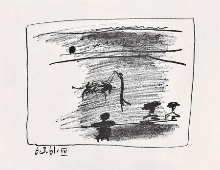 Litografia Picasso - Les Banderillas
