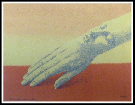 Litografia Magritte - LES BIJOUX INDISCRETS