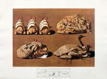 Litografia Dali - LES CAPRICES PINCES PRINCIERS