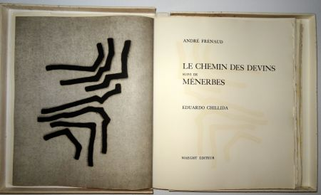 Libro Illustrato Chillida - Les Chemin Des Devins / Menerbés