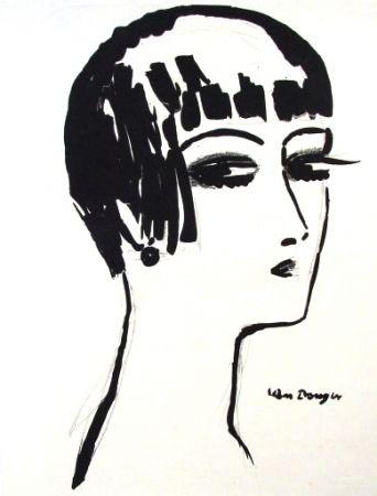 Litografia Van Dongen - Les Cheveux Courts