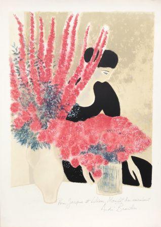 Litografia Brasilier - Les Deux Bouquets