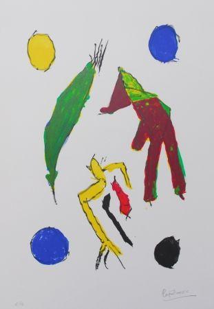 Litografia Ionesco - Les esprits et leurs lunes